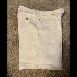 Michael Kors Women's White Denim Shorts